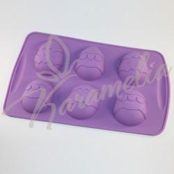 """Форма силиконовая """"Пасхальные яйца маленькие"""""""