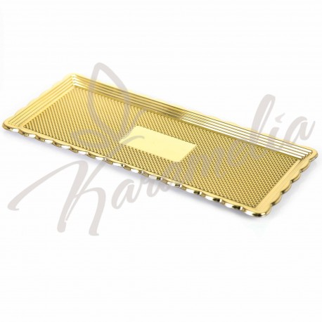 Поднос для тортов КАДО золото, 32 * 22 см