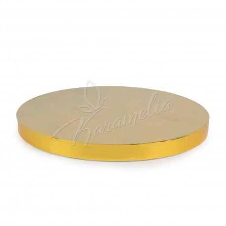 Подложка усиленая золото d 30 см