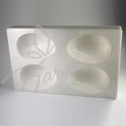 """Форма поликарбонатная для шоколада """"Яйцо"""", 10 см"""