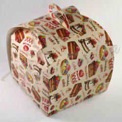 Коробка Лепесток CAKE CHOKOLATE 110*110*110