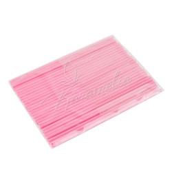 Палочки для кейк-попсов розовые, 50 штук в упаковке