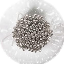 Сахарные шарики серебряные, 5 мм