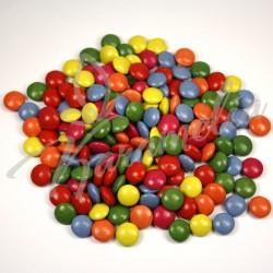 Драже шоколадные разноцветные