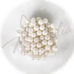 Сахарные шарики белая жемчужина, 7 мм
