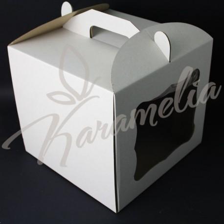 Упаковка для тортов, 300 * 300 * 250 с окошком