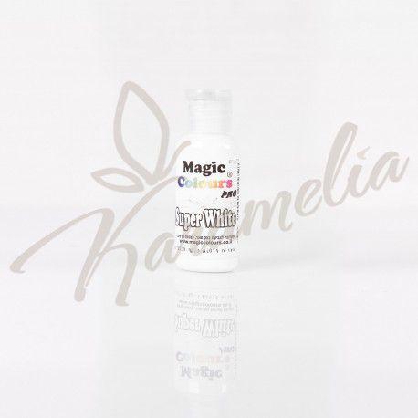 Краситель пищевой гелевый Super White, 32 g, Magic Colours Prp