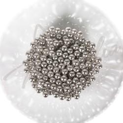 Сахарные шарики серебряные, 2 мм