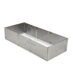Форма для выпечки, квадратная разьемная, от 27*18 до 52*34 высота 8,5 см