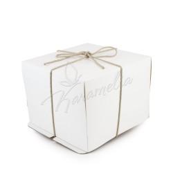 Упаковка для тортов 30 *30 *30 с веревкой
