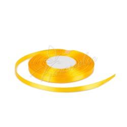 Лента атласная апельсиновая, 0,6 см рулон