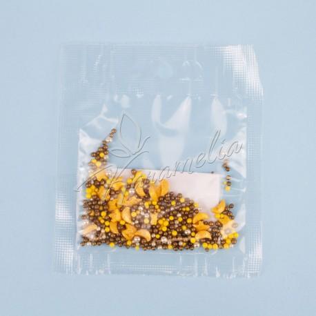 Перламутровый Микс № 10 (звезды, месяц, серебро) в прозрачном пакете