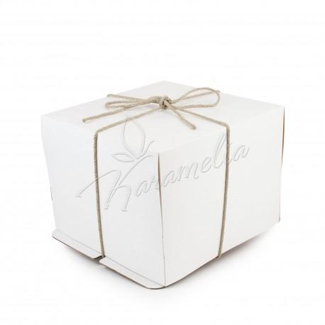 Упаковка для тортов 460 *460 *475 с веревкой