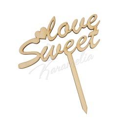 """Топпер """"Sweet Love"""""""