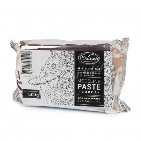 "Мастика ""Criamo"" для моделирования какао, 500 г"