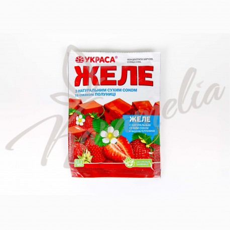 "Желе ""Клубника"" (с натур. Соком)"