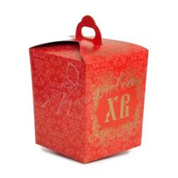 Упаковка на поясе картонная №2 (красная)