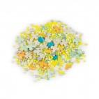 Перламутровый Микс № 2 (крестики, шарики) в прозрачном пакете