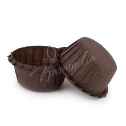 Формы для маффинов с бортом коричневые, 55 * 35 мм