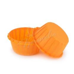 Формы для маффинов с бортом оранжевые, 55 * 35 мм