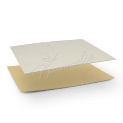 Подложка золотая, прямоугольная 30 * 40 см h 3 мм