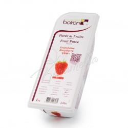 Замороженное фруктовое пюре из малины