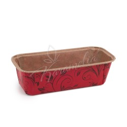 Форма для кексов красная (plumpy), 158 * 55 * 52 мм