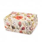 """Коробка-контейнер """"Акварельные цветы"""", 180 * 120 * 80"""