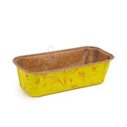 Форма для кексов желтая (plumpy), 158 * 55 * 52 мм
