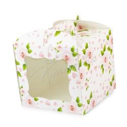 Упаковка для тортов, 230 * 230 * 210 Роза