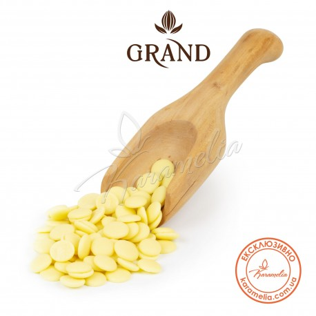 Шоколад натуральный белый 29%, ТМ Grand