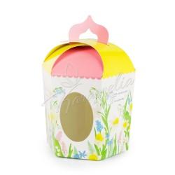 "Упаковка для кулича картонная ""Нарцисс"" 145 * 165 * 160"