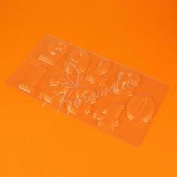 Форма для шоколада пластиковая Цифры