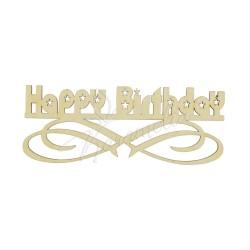 """Топпер """"Happy birthday"""" звездочки"""