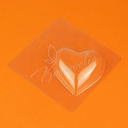 Форма для шоколада пластиковая Шаблон Сердце