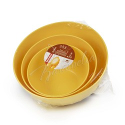 Миски пластиковые DELICIA, набор 3шт.