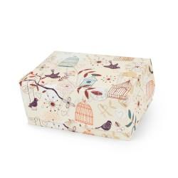 """Коробка-контейнер """"Птички"""" 180 * 120 * 80"""