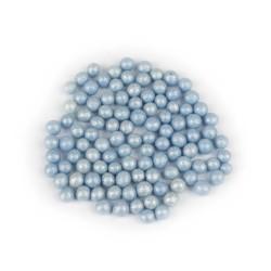 Сахарные шарики голубые Софт