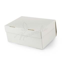 Коробка на 6 кексов без окна, белая 250 * 170 * 110