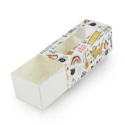 """Коробка для макаронс """"Мульти"""" 140 * 60 * 50"""