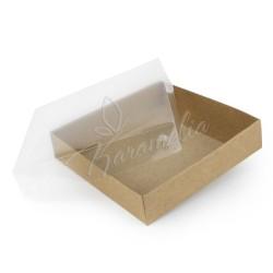 Коробка для пряников крафт 160 * 160 * 35