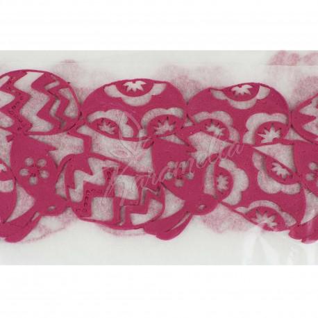Кружево 28 розовое