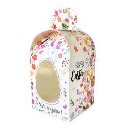 """Упаковка на паску картонная """"Easter"""" 110 * 110 * 140"""