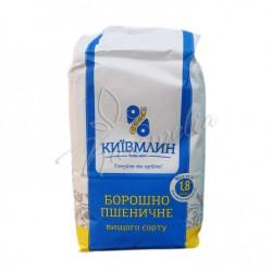 """Мука пшеничная высшего сорта """"Киевмлын"""" 1,8 кг"""