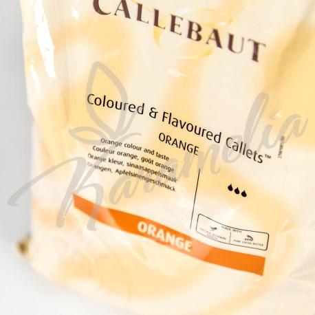 Шоколад оранжевый со вкусом апельсина, Barry Callebaut