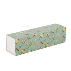 Коробка для макаронс на 7 шт, Sweet, 195 * 50 * 50