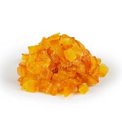 Апельсиновый кубик засахаренный, 3 * 3 мм, Nappi