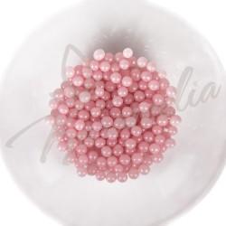 Сахарные шарики розовые, 5 мм