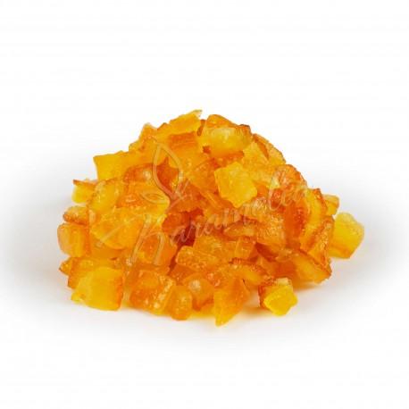 Апельсиновый кубик засахаренный, 6 * 6 мм, Nappi