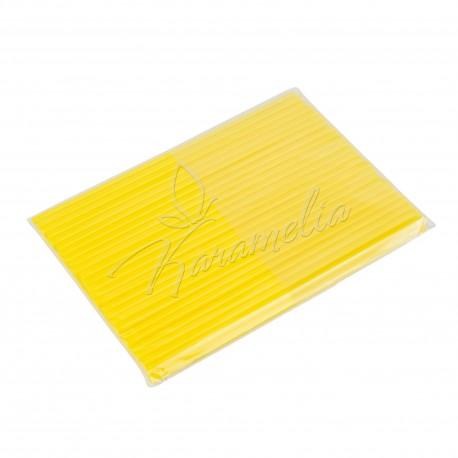 Палочки для кейк-попсов желтые, 50 штук в упаковке